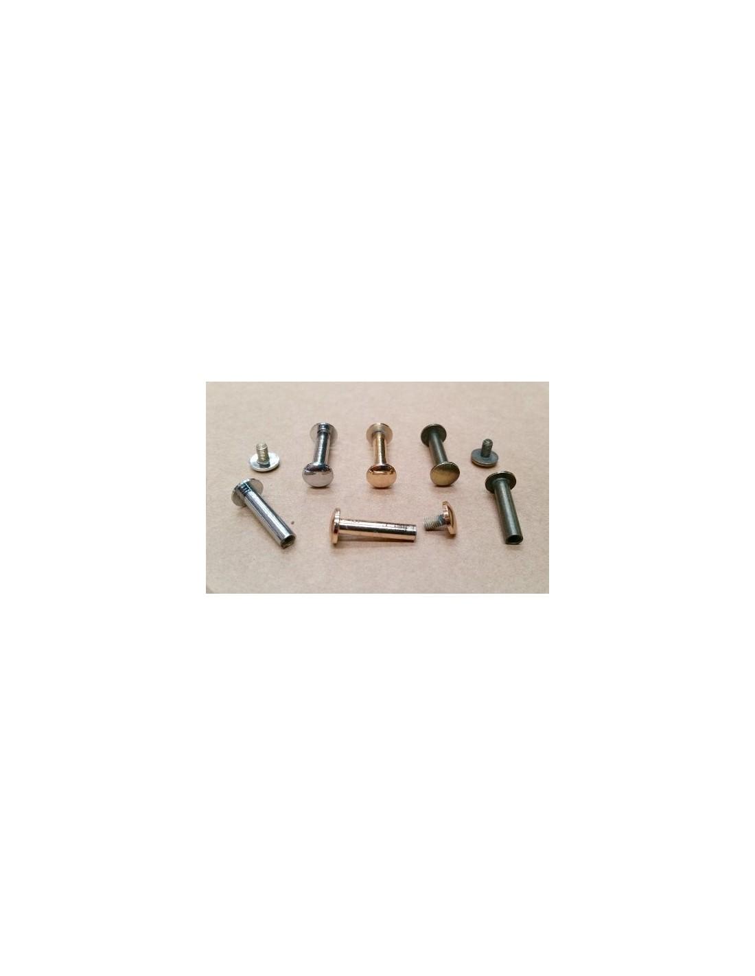Remache encuadernaci n cabeza 8 mm largo 20mm productos for Remaches de hierro