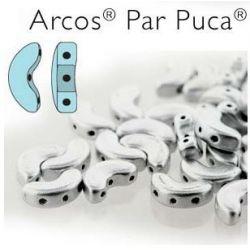 ARCOS PAR PUCA 5 X 10MM SILVER ALUMINUM MAT