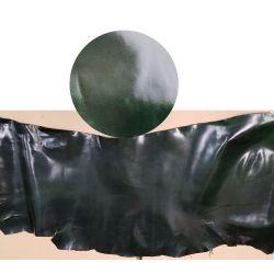 PIEL POTRO- CABALLO SEMIENGRASADO 1ª CALIDAD 0,8 - 1mm GROSOR VERDE BOTELLA
