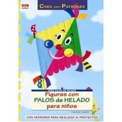LIBRO FIGURAS CON PALOS DE HELADOS.