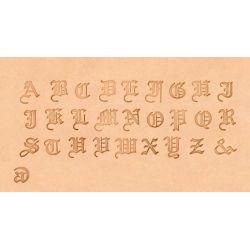 ALFABETO OLD ENGLISH 8142-00