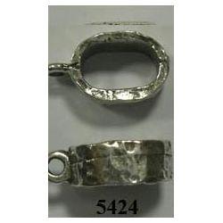 ADORNO PULSERA OVALADO 10X6+anilla. F426.