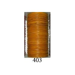 MTS. CORDON CUERO PIEL CANGURO 1mm. 403