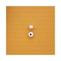 BOLA ACHATADA 4mm PASADA TALADRO1.4mm 08BC090/04