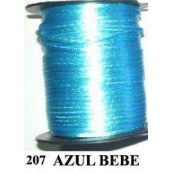 COLA DE RATON 2mm .207 AZUL BEBE