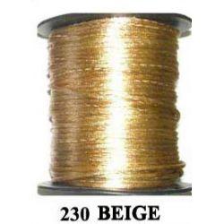 COLA DE RATON 2mm .230 BEIGE