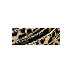 TIRA PELO + RIBETE 14mm.LEOPARDO comb 1