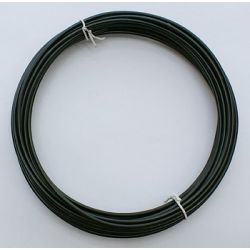 CABLE ALUMINIO 2mm (12Mt) 100gr. NEGRO