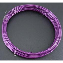 CABLE ALUMINIO 2mm (12Mt) 100gr. MORADO