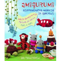 AMIGURUMI SORPRENDENTES MUÑECOS GANCHILLO.203212