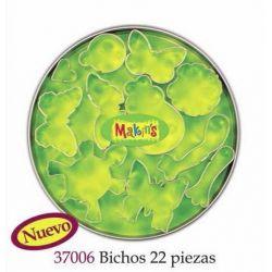 MAKIN S SET CORTADORES BICHOS 22 PIEZAS MK37006