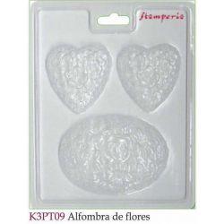 MOLDES ALFOMBRA DE FLORES K3PT09