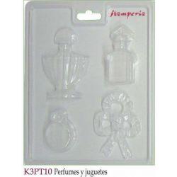 MOLDES PERFUMES Y JUGUETES K3PT10