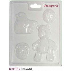 MOLDES INFANTIL K3PT12