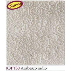 TEXTURA ARABESCO INDIO BXK3PT30