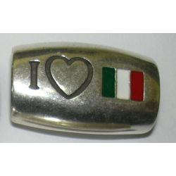 TUBO OVALADO 10X6 BANDERA ITALIA 428704