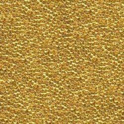 MIYUKI ROCALLA 15/0 (50GR)GOLD DE 24KT 15-9191