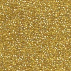 MIYUKI ROCALLA 15/0 (100gr) LINED GOLD 15-93