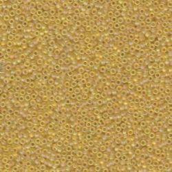 MIYUKI ROCALLA 15/0 (100gr)LIGHT GOLD AB -132FR
