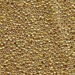 MIYUKI ROCALLA 11/0(100gr)Nº1052 GALVANIZED GOLD