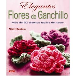 ELEGANTES FLORES DE GANCHILLO.203221