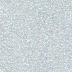 MIYUKI ROCALLA 15/0 (100gr)CRISTAL AB 15-9250