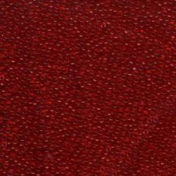 MIYUKI ROCALLA 11/0(100gr)TRANS RED 11-9141