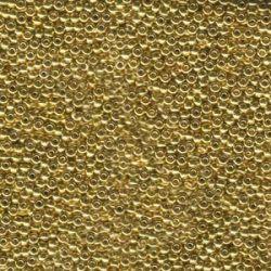 MIYUKI ROCALLA 11/0(100gr) GOLD BAÑO24KT 11-9193
