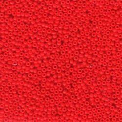 MIYUKI ROCALLA 11/0(100gr) OPAQUE RED 11-9407