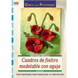 CUADROS DE FIELTRO MODELABLE Nº10 236010