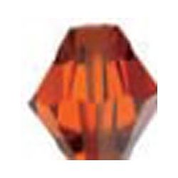 TUPI SWAROVSKI 5mm PAQUETE 720u.374 INDIAN RED
