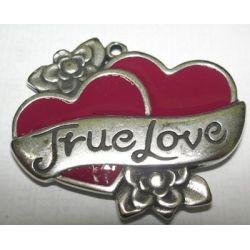 COLGANTE TRUE-LOVE ROJO 40mm 8449