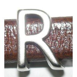 """ADORNO OVALADO LETRA """"R"""" 10X6 8406"""