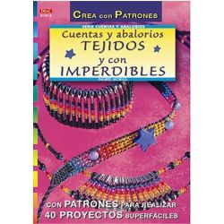 ABALORIOS TEJIDOS Y CON IMPERDIBLES 210012