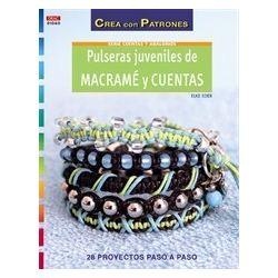 PULSERAS JUVENILES DE MACRAME Y CUENTAS 210060