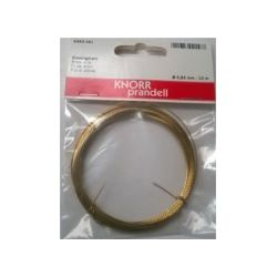ALAMBRE 0,6mm.6463-061 LATON (10Mt.)