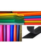 Fieltro, Velcro de coser y Polipiel