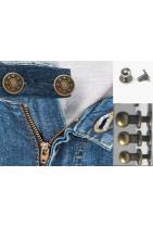 botones para pantalones y gemelos para cuero