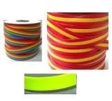 Tireta Plana Piel Banderas y Neon