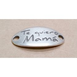 "PLACA 38X19MM AGUJERO 3MM ""..."