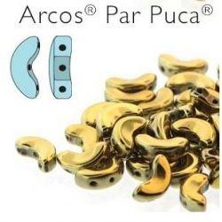 ARCOS PAR PUCA 5 X 10MM  FULL DORADO
