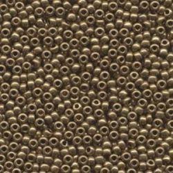 MIYUKI ROCALLA 8/0 MET DK BRONZE 9457 ( 125 GRAMOS )