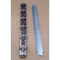 ANILLA AGENDA 11,5 cm PEQUEÑA CON PLACA Y ANILLAS DE 10 mm