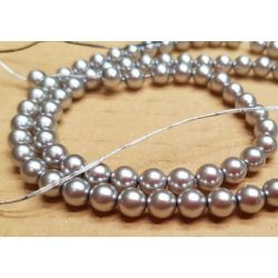 PERLA CHECA 8mm GRIS  (75...