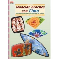 MODELAR BROCHES CON FIMO.