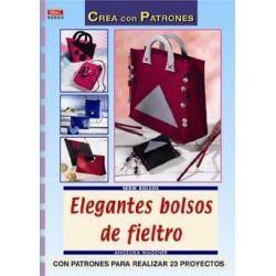 ELEGANTES BOLSOS DE FIELTRO...