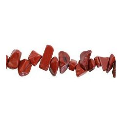CHIPS JASPE ROJO 6-9mm HILO...
