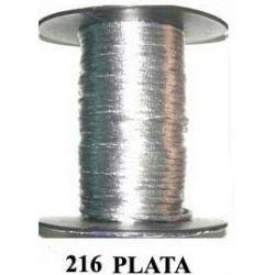 COLA DE RATON 2mm .216 PLATA