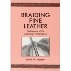 BRAIDING FINE LEATHER BOOK...
