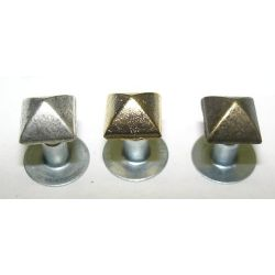 REMACHE PIRAMIDE 6X6MM